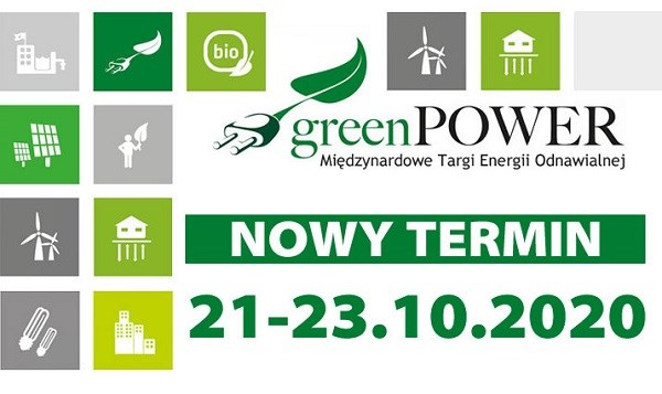 targi greenpower nowy termin